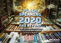 Plain Speaking - Ngatea library project