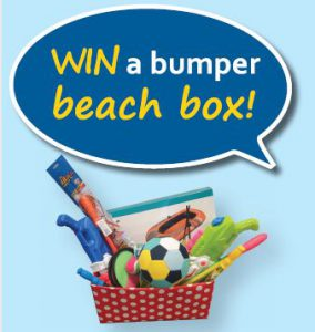 Win a bumper beach box